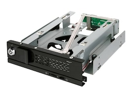 "Icy Dock TurboSwap Tray-Less 3.5"" SATA Hard Drive Mobile Rack, MB171SP-B, 16908339, Drive Mounting Hardware"