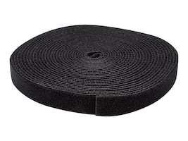 StarTech.com Hook-and-Loop Cable Management Tie and Cable Wrap, 25ft Roll, HKLP25, 33681738, Cable Accessories