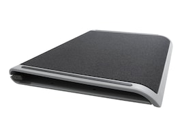 Targus Space Saving Lap Chill Mat, Gray Black, AWE80US, 14257069, Cooling Systems/Fans