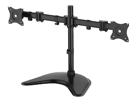 Siig Articulated Freestanding Dual Monitor Desk Stand for 13-27 Displays, CE-MT1U12-S1, 36132662, Stands & Mounts - Desktop Monitors