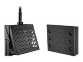 Peerless-AV Flat Tilt Universal Wall Ceiling Mount for Flat Panels, with CPU Storage, DST360, 11093054, Stands & Mounts - Digital Signage & TVs