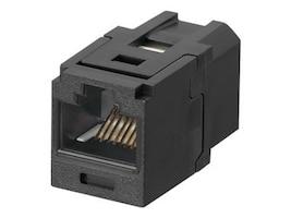 Panduit Mini-Com Coupler Cat6 Black, CC688BL, 8738691, Premise Wiring Equipment