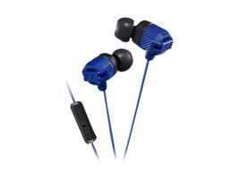 JVC XX Smrtphone Xtreme Bass IE Heapdhones - Blue, HAFR202A, 34171342, Headsets (w/ microphone)