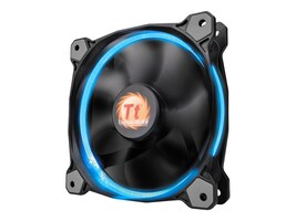 Thermaltake Riing 12 RGB 120mm Fan, Single Pack, CL-F042-PL12SW-A, 30735139, Cooling Systems/Fans