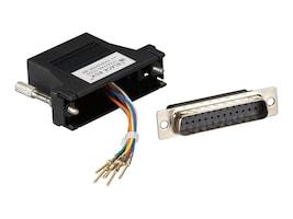 Black Box DB-25 Modular Adapter Kits (Not assembled), FA4525M-BK, 32874554, Network Adapters & NICs