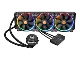 Thermaltake Water 3.0 Riing RGB 360 Liquid CPU Cooler, CL-W108-PL12SW-A, 31019986, Cooling Systems/Fans