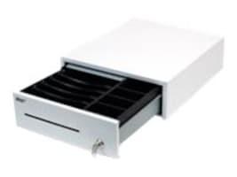 Star Micronics Cash Drawer 12w x 14d Printer Driven 5-Bill 4-Coin Media Slot DK, White, 37964101, 18492761, Cash Drawers