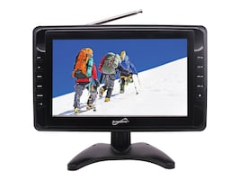 Supersonic 10 Portable Digital LCD TV, Black, SC-2810, 34612427, Televisions - Consumer