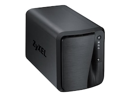Zyxel Communications NAS520 Main Image from Left-angle