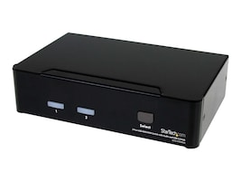StarTech.com 2-Port USB HDMI KVM Switch with Audio and USB 2.0 Hub, SV231HDMIUA, 11126240, KVM Switches