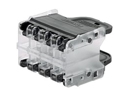 Panduit QPPN8BL Main Image from Right-angle
