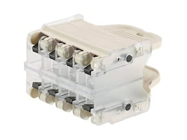 Panduit QPPN8WH Main Image from Right-angle