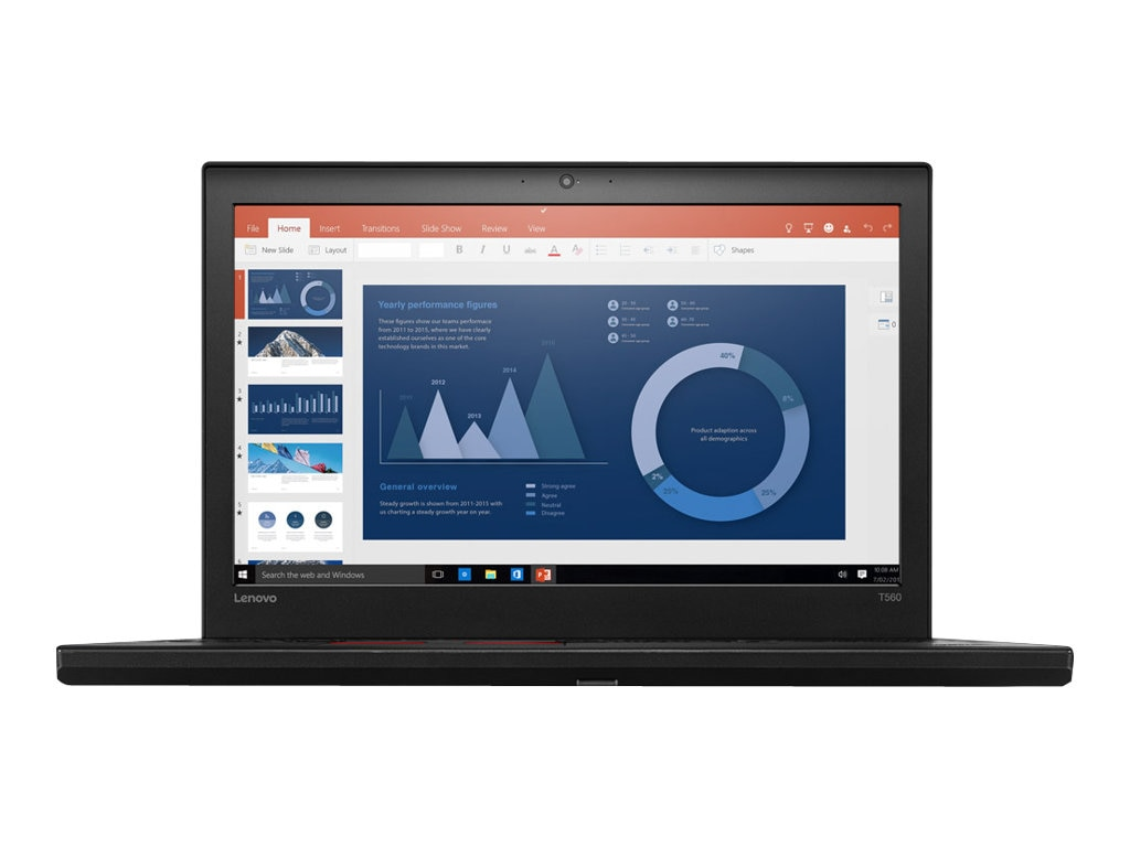 Lenovo TopSeller ThinkPad T560 2.6GHz Core i7 15.6in display, 20FH001TUS, 31220428, Notebooks