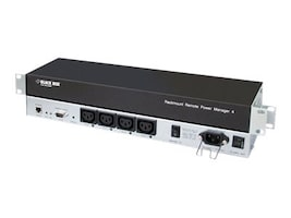 Black Box Horizontal Rackmount Remote Power Management, PS581A-R2, 32891901, Power Distribution Units