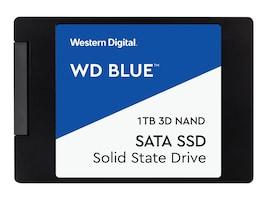 Western Digital 1TB WD Blue SATA 6Gb s 3D NAND 2.5 7mm Internal Solid State Drive, WDS100T2B0A, 34584841, Solid State Drives - Internal