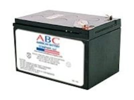 American Battery Replacement Battery Cartridge RBC4 for APC BK650, BP650, SU620, SU650 models, RBC4, 462082, Batteries - Other