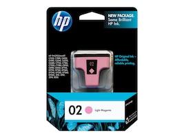 HP 02 (C8775WN) Light Magenta Original Ink Cartridge, C8775WN#140, 7885420, Ink Cartridges & Ink Refill Kits - OEM