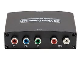 Syba Component (YPbPr) + RCA Audio to HDMI 1.3 Converter, SY-ADA31048, 34152379, Scan Converters