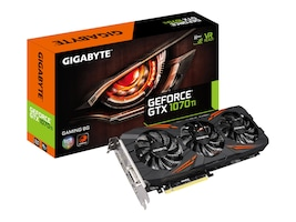 Gigabyte Technology GV-N107TGAMING-8GD Main Image from Left-angle