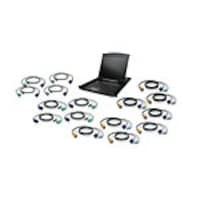 IOGEAR 19 LCD 16-Port KVM Kit, PS 2, USB, GCL1916KIT, 22073593, KVM Displays & Accessories
