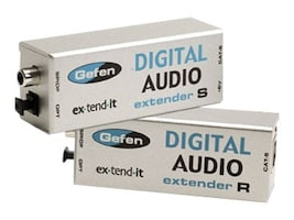 Gefen Analog Audio Extender, EXT-DIGAUD-141, 41047237, Cables