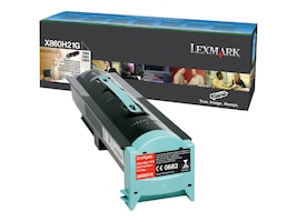 Lexmark Black High Yield Toner Cartridge for X860, X862 & X864 Series, X860H21G, 10532342, Toner and Imaging Components - OEM