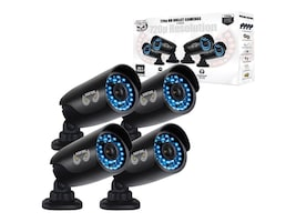 Night Owl 650 TVL Security Camera with 100-foot Night Vision, 4-Pack, CAM-4PK-AHD7, 20395898, Cameras - Security