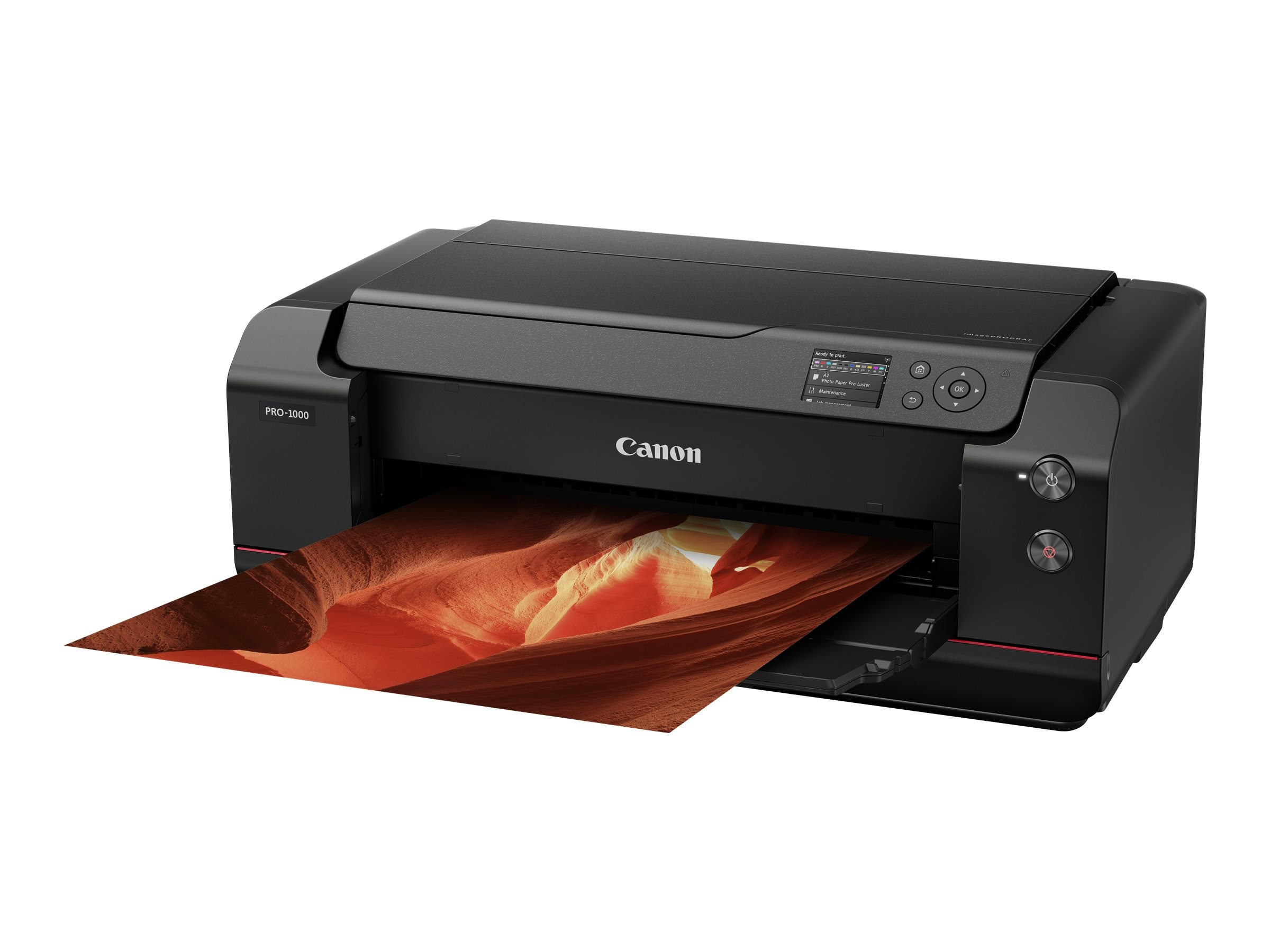 Canon imagePROGRAF PRO-1000 17 Professional Photographic Inkjet Printer, 0608C002, 34124618, Printers - Ink-jet