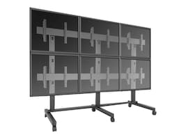 ViewSonic 3x2 Video Wall Mobile Cart for 42-46 Displays, WMK-074, 37042028, Monitor & Display Accessories - Video Wall