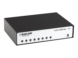 Black Box 8-port USB Hub, RS-232, IC1023A, 32875282, Network Adapters & NICs