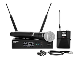 Shure Bodypack Vocal Combo System, QLXD124/85-G50, 35060960, Microphones & Accessories