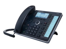 AudioCodes UC440HDEG 6-Line SIP SDP IP Phone (Black), UC440HDEG, 35145728, VoIP Phones