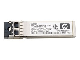 HPE 8GB Shortwave B-Series Fibre Channel SFP+, AJ716B, 13551426, Network Transceivers