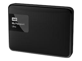 WD 2TB My Passport Ultra USB 3.0 Portable Hard Drive - Black, WDBBKD0020BBK-NESN, 21089083, Hard Drives - External