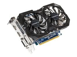 Gigabyte Tech GeForce GTX 750 TI PCIe 3.0 Overclocked Graphics Card, 2GB GDDR5, GV-N75TOC2-2GI, 30598226, Graphics/Video Accelerators