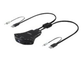 Belkin Secure 2-Port Flip KM Switch, F1DN102K-3, 24398869, KVM Switches
