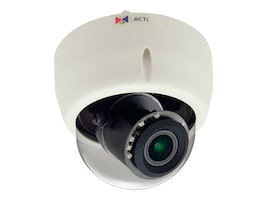 Acti 5MP Indoor Day Night Basic WDR 4.3x Zoom Dome Camera, E616, 31958852, Cameras - Security