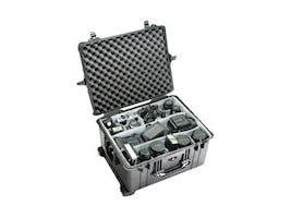 Pelican 1624 Hard Case w  Padded Divider, Black, 1620-024-110, 15566664, Carrying Cases - Other