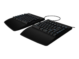 Kinesis Freestyle Edge Keyboard, Cherry MX Brown Switches, KB950-BRN, 35056961, Keyboards & Keypads
