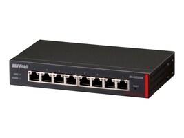 BUFFALO 8-Port Gigabit Web Smart Switch, BS-GS2008, 17936622, Network Switches
