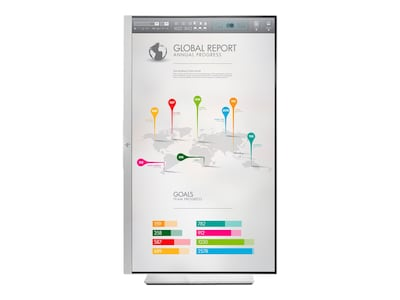 HP 27 E273q QHD LED-LCD Monitor, Black Silver, 1FH52A8#ABA, 34807312, Monitors