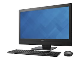 Dell OptiPlex 7440 AIO Core i5-6500 3.2GHz 4GB 500GB HD530 DVD+RW GbE ac BT WC 23 FHD W7P64-W10P, 7DG5D, 30819105, Desktops - All-in-One