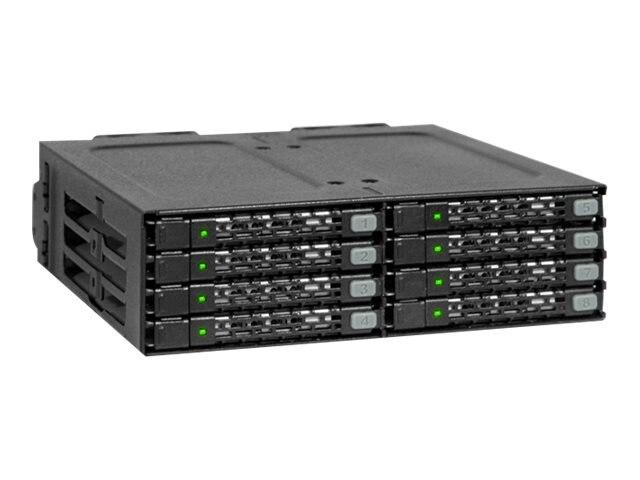 Icy Dock 8 Bay 2.5 SATA Hard Drive Mobile Rack, MB998SP-B, 18558942, Hard Drive Enclosures - Multiple