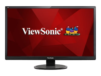 Open Box ViewSonic 28 VA2855SMH Full HD LED-LCD Monitor, Black, VA2855SMH, 32619158, Monitors