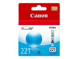 Canon Cyan CLI-221 Ink Tank, 2947B001, 8976235, Ink Cartridges & Ink Refill Kits