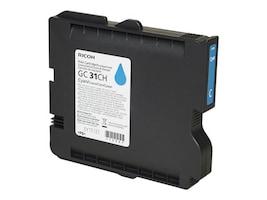 Ricoh Cyan GC 31CH High Yield Print Cartridge, 405702, 11139673, Ink Cartridges & Ink Refill Kits