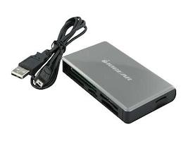 IOGEAR 56-in-1 Universal Memory Bank Card Reader Writer, GFR281W6, 10177256, PC Card/Flash Memory Readers