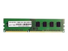 VisionTek 4GB PC3-12800 240-pin DDR3 SDRAM DIMM, 900383, 22711137, Memory