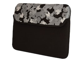 Mobile Edge Sumo Camo iPad Sleeve, Black, SUMO-IPADSC1, 11634594, Protective & Dust Covers