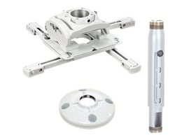 Chief Manufacturing Universal Projector Mount, Extension Column, Ceiling Plate, KITPD012018W, 17997812, Mounting Hardware - Miscellaneous